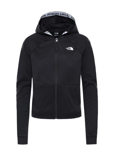 The North Face Train Tam Fermuarlıkadın Sweatshirt Siyah Siyah